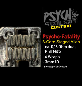 Psycho Staged Alien für Fatality 25/28